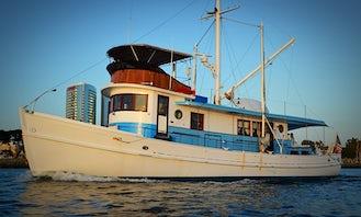 1951 Classic Luxury Trawler in San Diego, California
