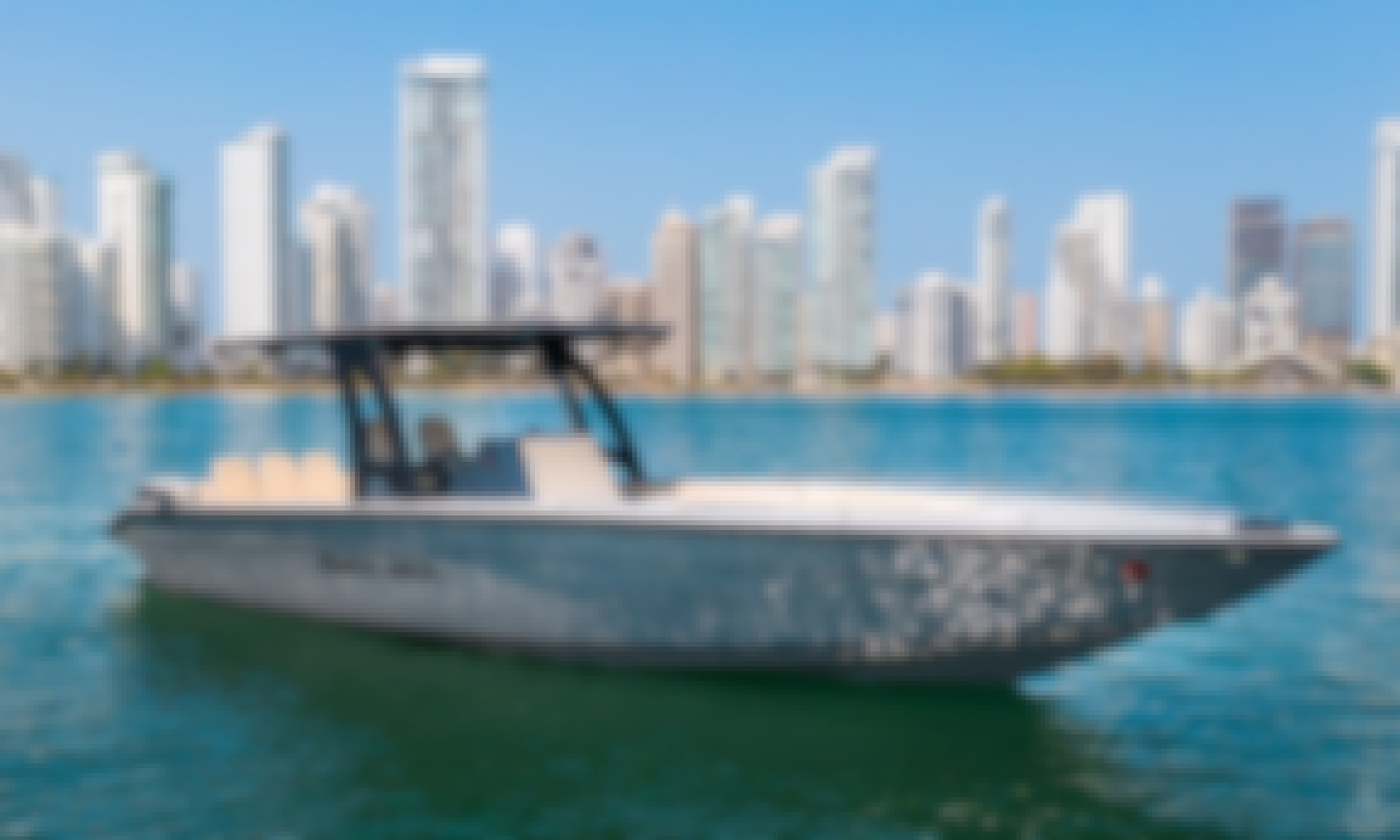 Black Jack 34' Luxury Speedboat For Charter in Colombia