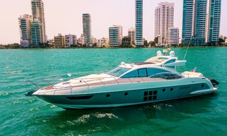 Stunning Azimut 62' Luxury Adventure Yacht for Charter in Colombia