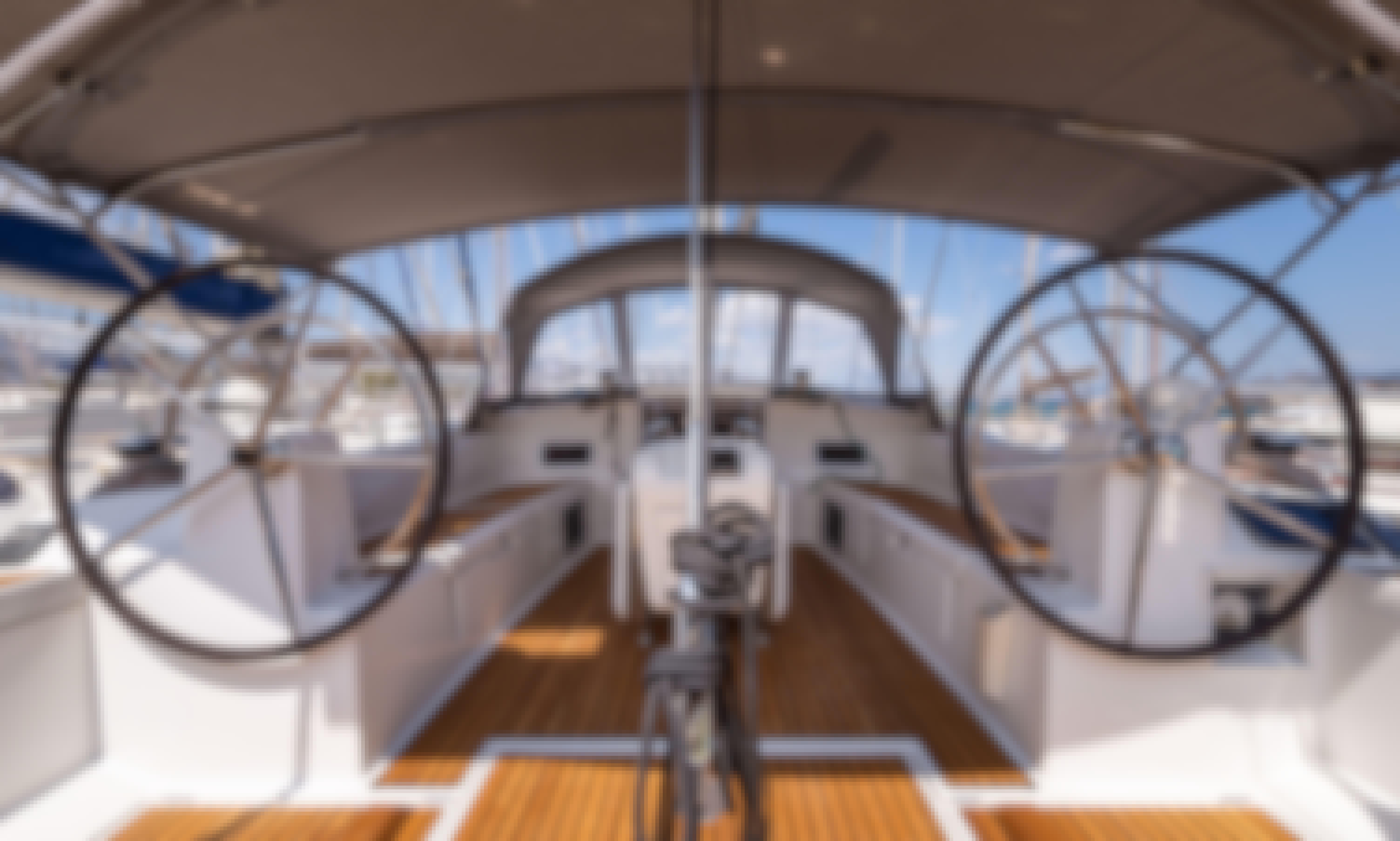 Jeanneau Sun Odyssey 509 in Lefkada