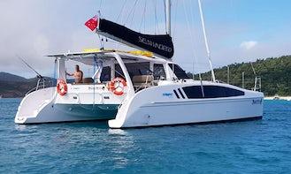 42' SeaWind 1260 Luxury Catamaran For Charter in Clontarf, NSW