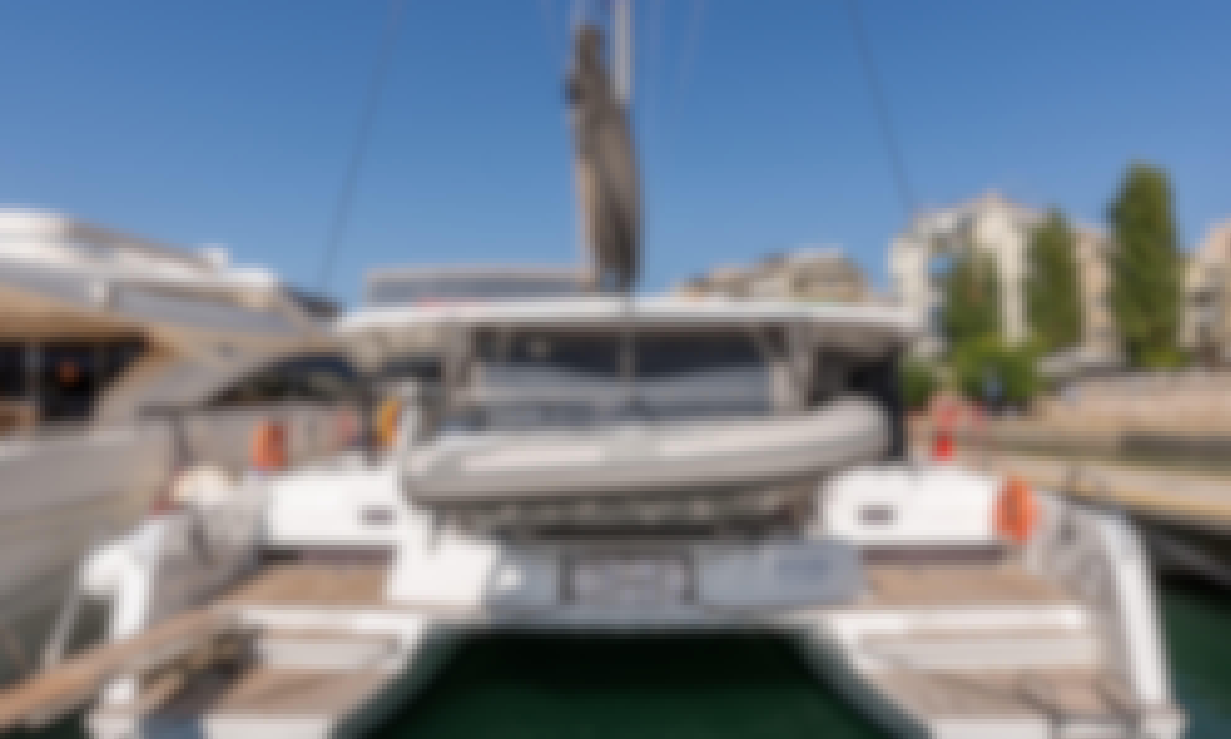 Luxurious Lagoon 42 in Lefkada