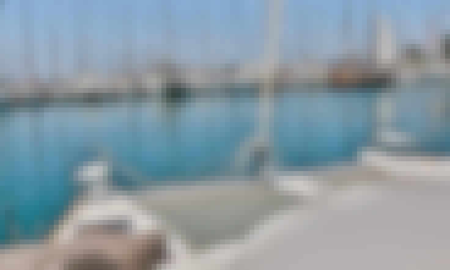 Stunning Lagoon 380 Cruising Catamaran Charter in Alimos