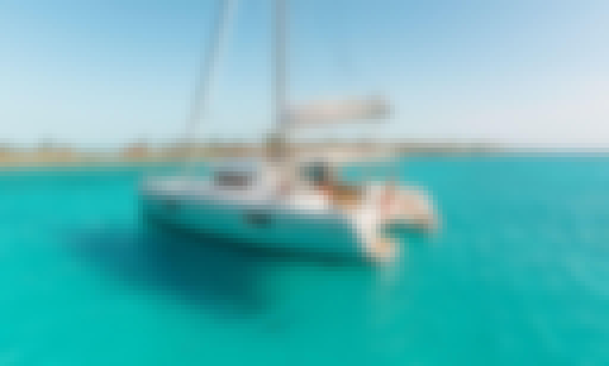 "42ft ""Tethys"" Lagoon Cruising Catamaran for Charter in Lefkada, Greece"