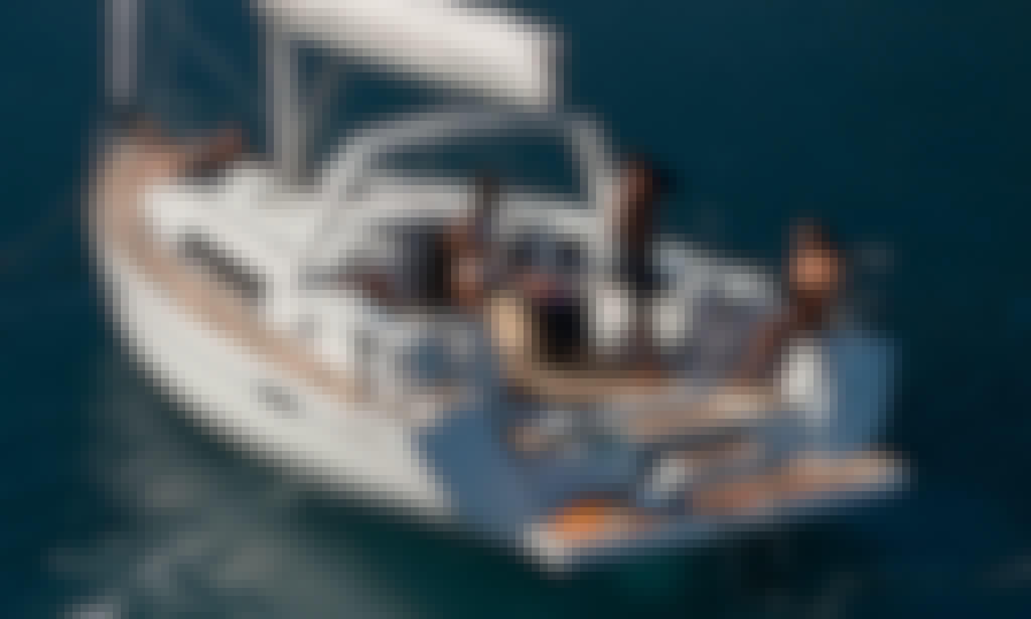 Euphoria Beneteau Oceanis 45 sailing Yacht in Corfu