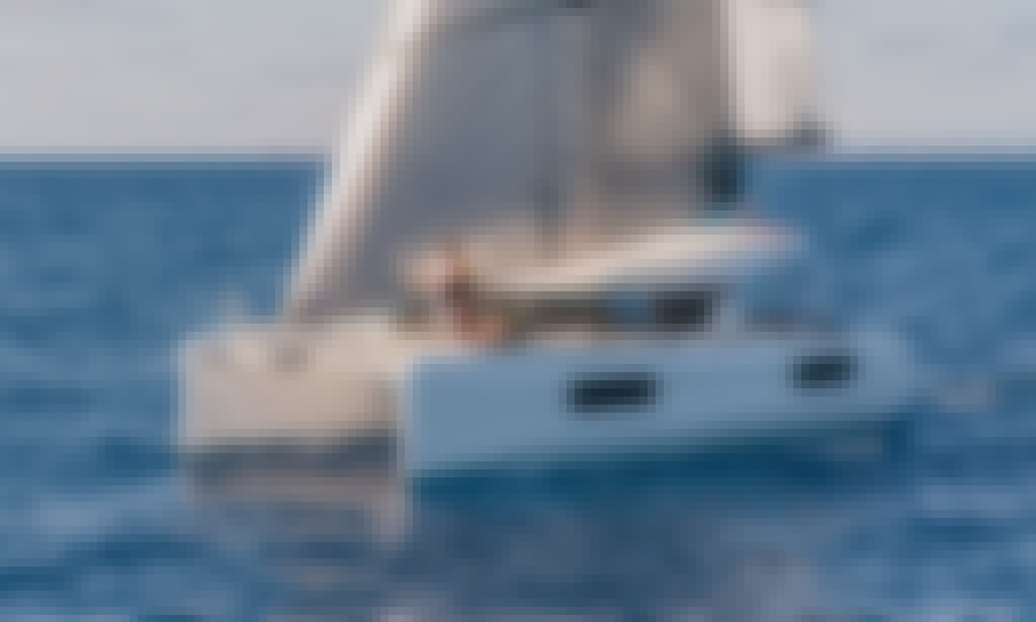 "40ft ""Meliti"" Lagoon Cruising Catmaran for Chater in Lefkada, Greece"
