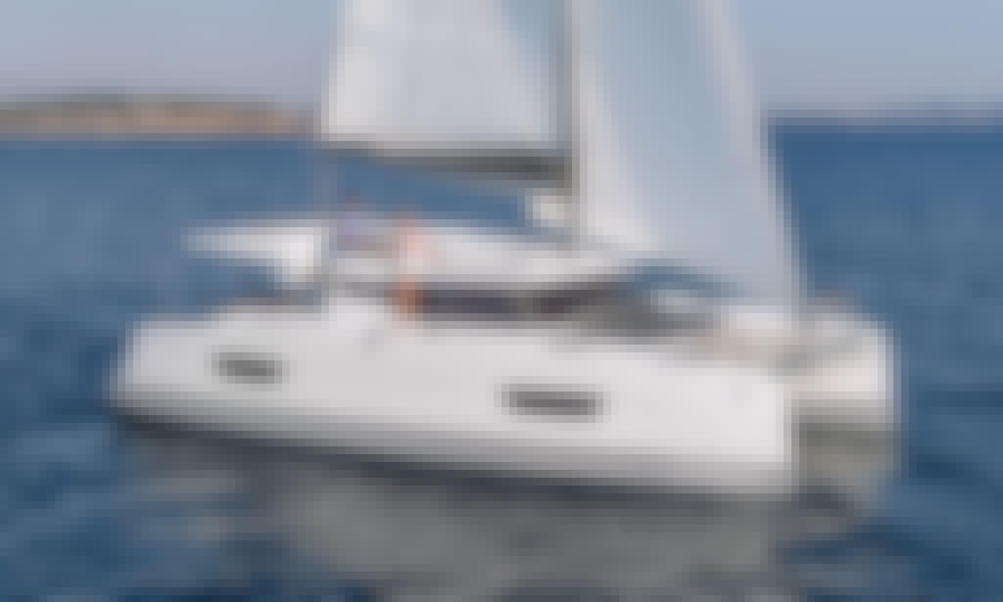 """Artemis"" Fountaine Pajot 40 Cruising Catamaran for Charter in Lefkada, Greece"