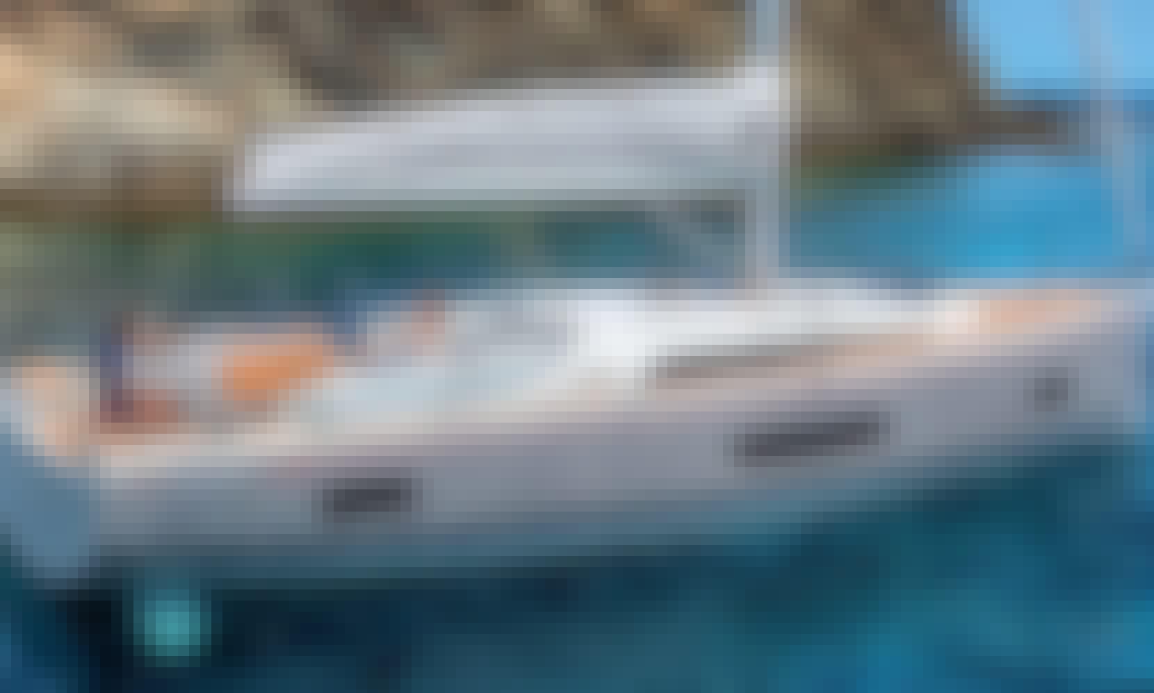 """""""July"""" Beneteau Oceanis 46.1 Cruising Monohull fo Charter in Lefkada, Greece"""