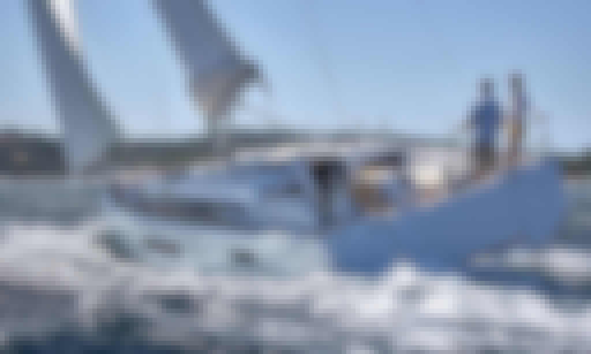 """Charter the """"Ioleta"""" Sun Odyssey 440 Sailing Yacht in Lefkada, Greece"""