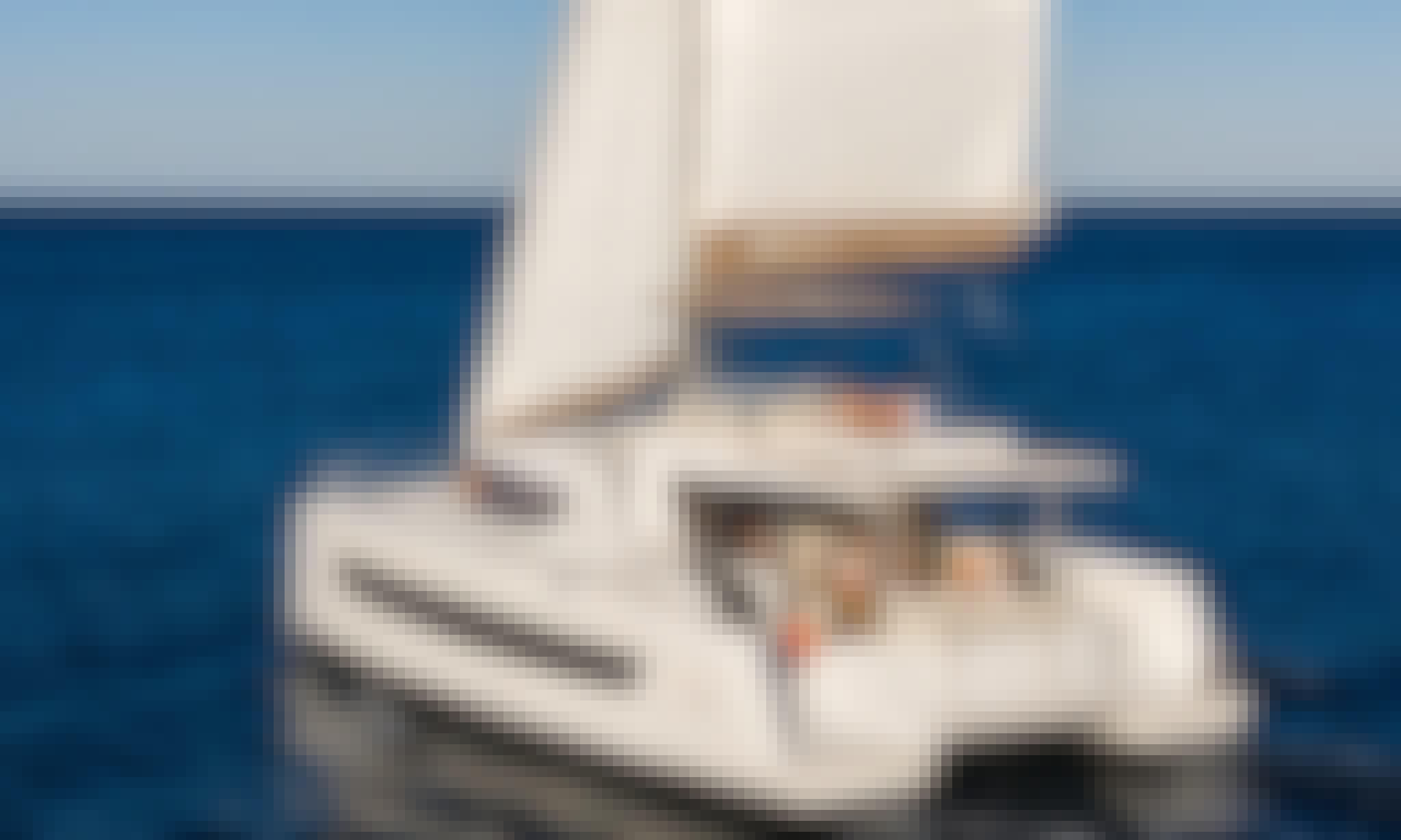 Bali 4.8 Cruising Catamaran Bareboat Charter for 12 People in Alimos, Greece