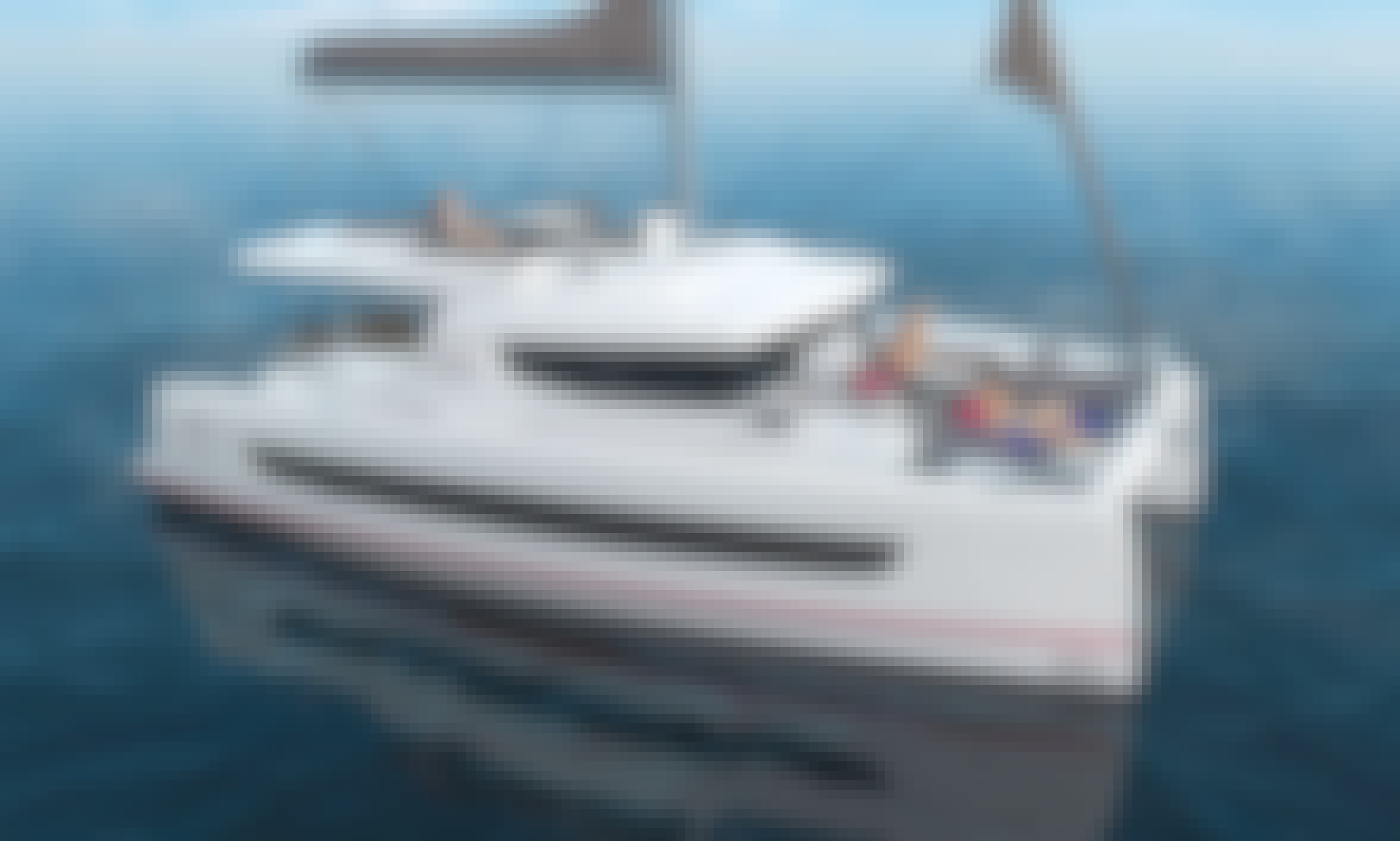 Bali 4.6 Bareboat Charter for Up to 12 People in Rhodes, Greece