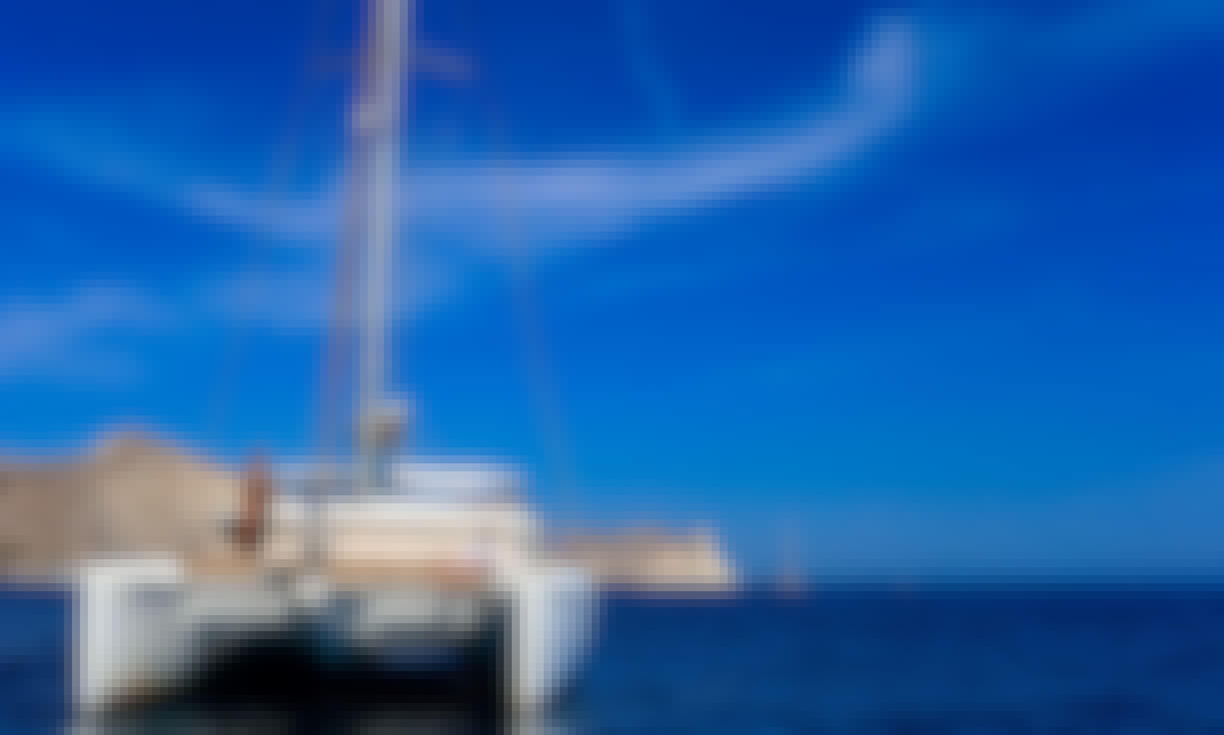Lagoon 42' Sailing Yacht Private Day Cruise in Santorini