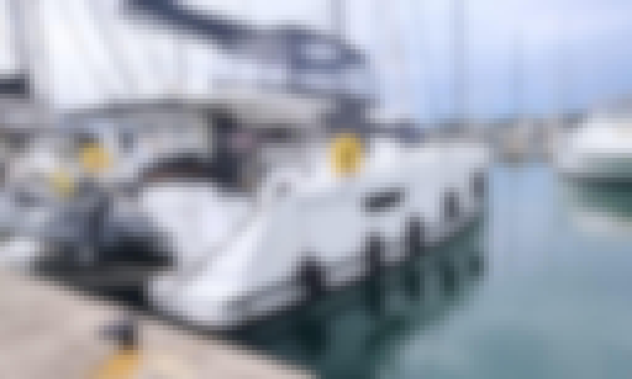 "Charter the 42ft ""Oga Chaka"" Fountaine Pajot Sailing Catamaran in Corfu"