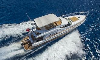 Beautiful Luxury Sunseeker 62' for Charter in Antalya
