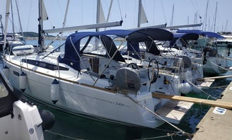 Jeanneau Sun Odyssey 349/2019 Sailing Yacht for Charter in Pirovac, Croatia