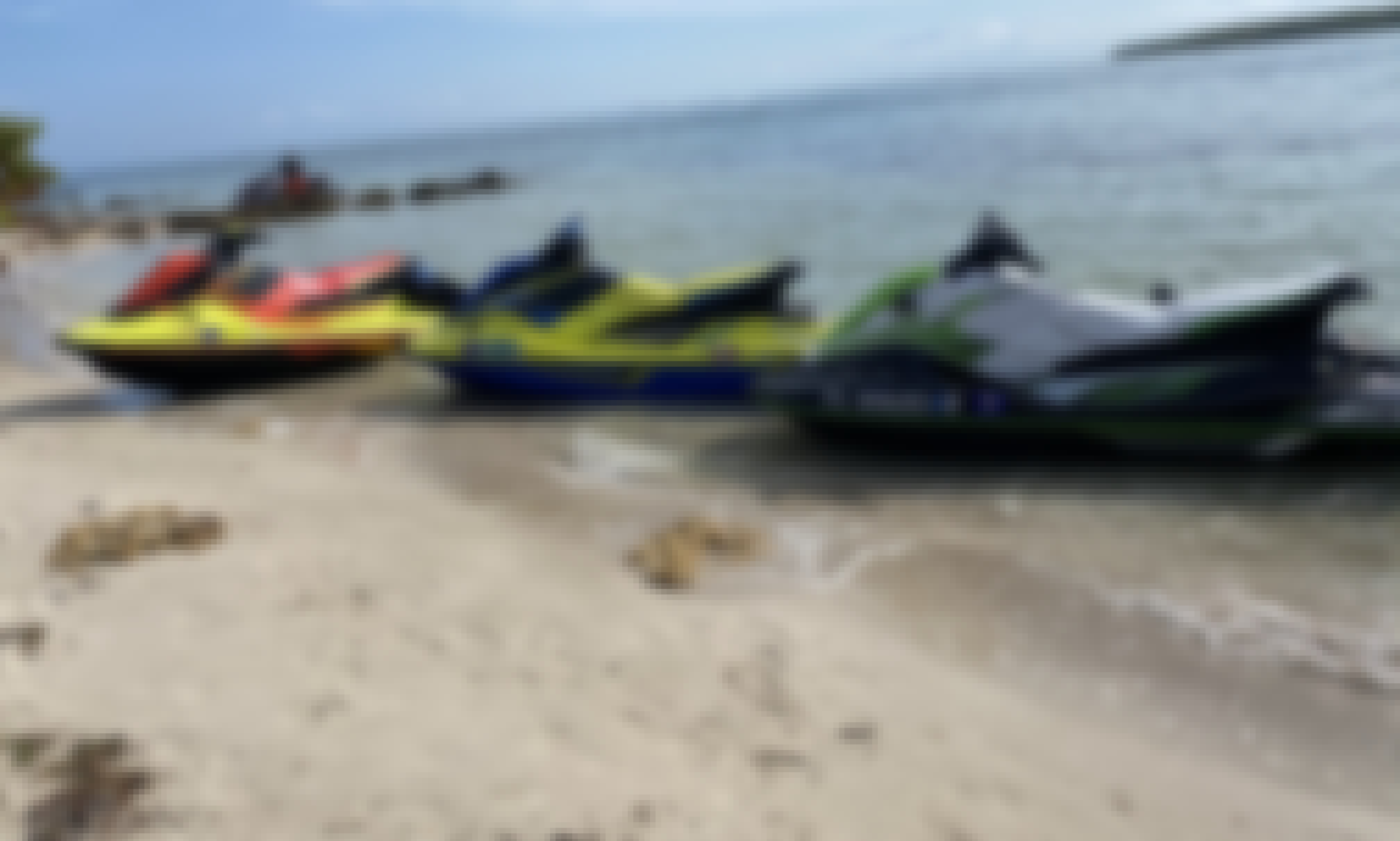 2021 Yamaha EXR Jetskis for Rent in Key Biscayne