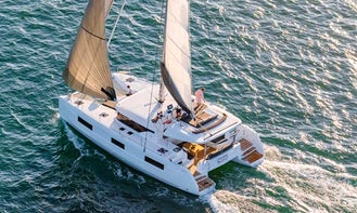 Lagoon 46 Bareboat Charter for 12 People in Alimos, Greece