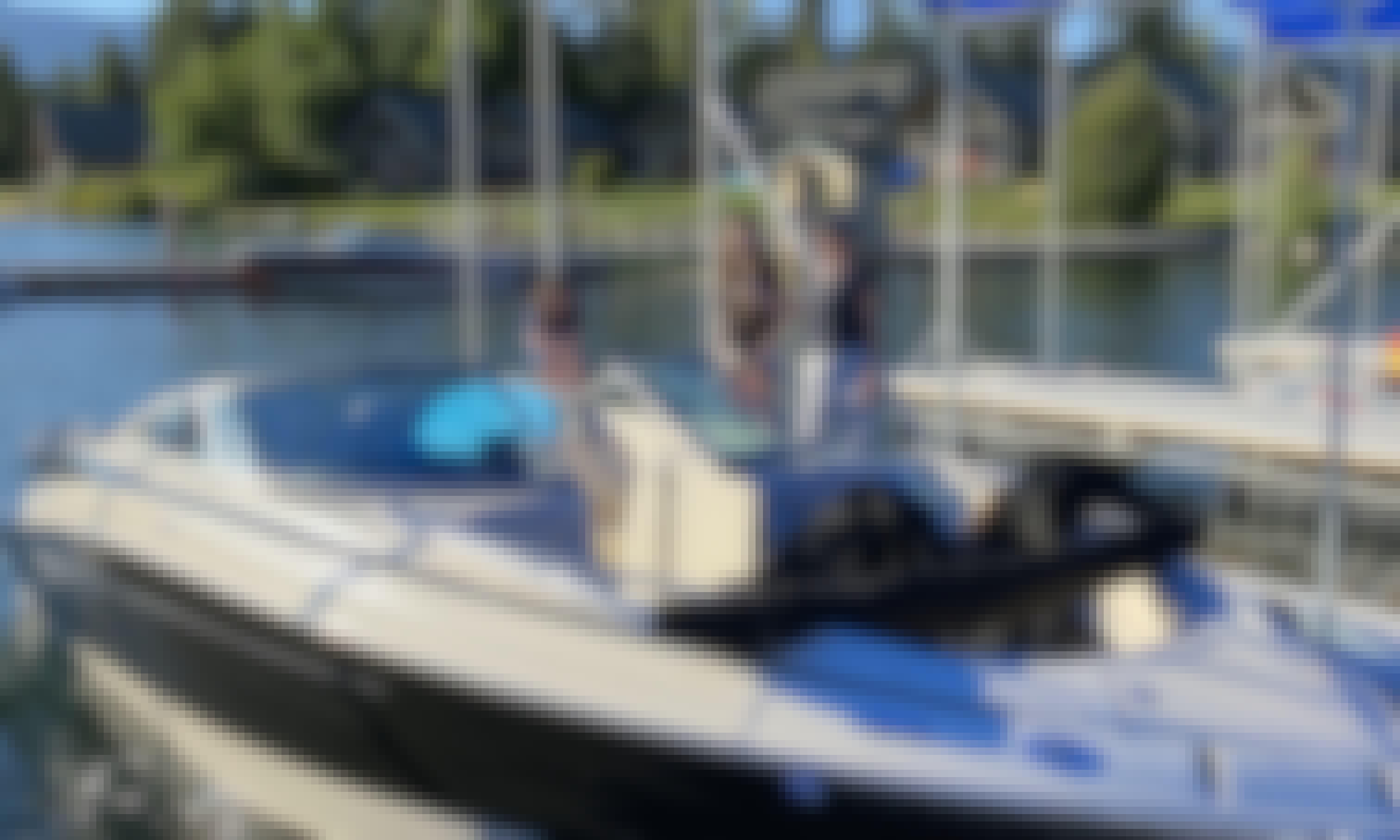 25 Ft Bennington Lake Cruiser