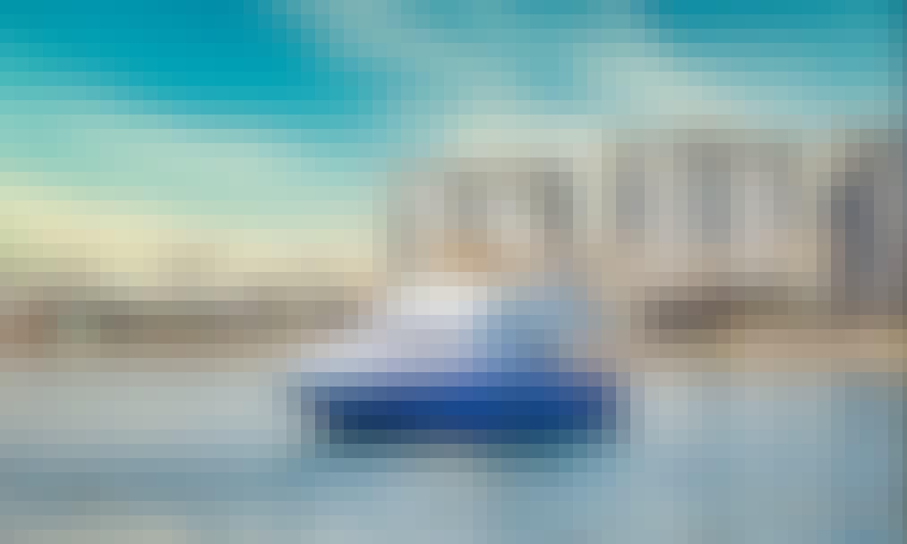 Explore Dubai on This Beautiful 63' Majesty Power Mega Yacht