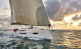 Captain this Flawless Sun Odyssey 490 Sailing Yacht in Skiathos, Greece