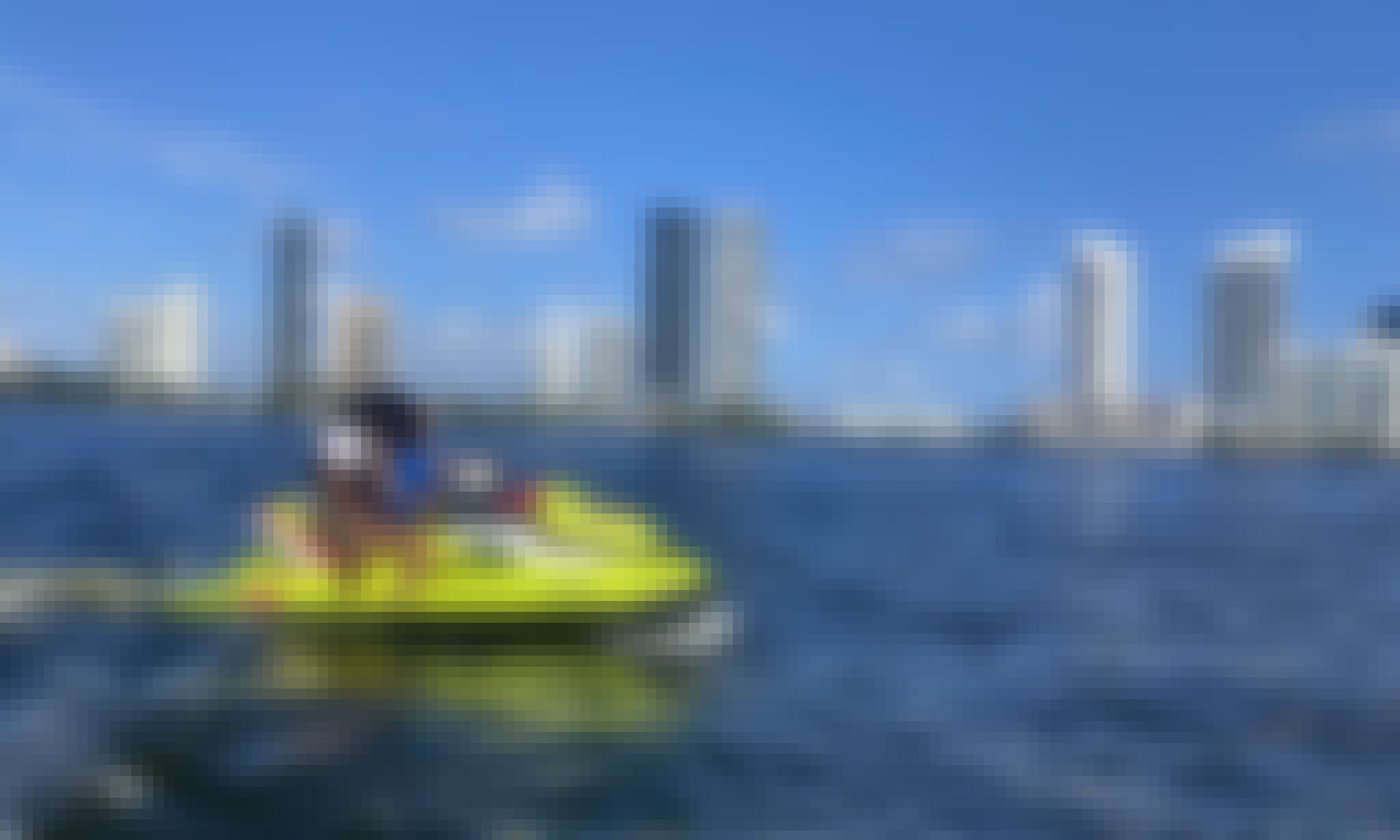 SeaDoo GTI Jetskis for Rent in Aventura, Florida