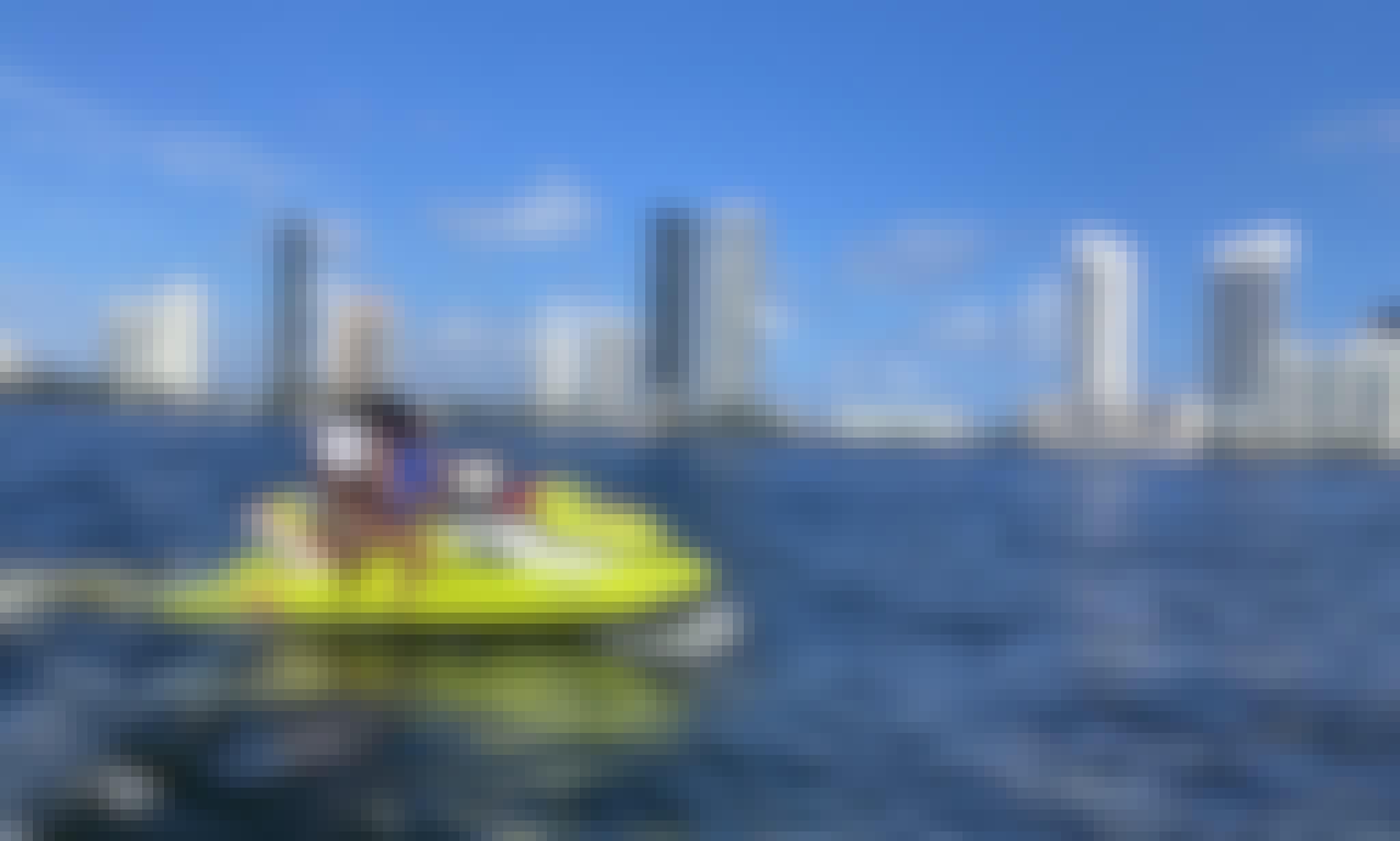 SeaDoo GTI Jetskis for Rent in Aventura, Florida