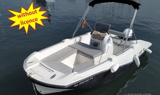 Rent this boat B500 'Perseis' without license in Palma, Spain