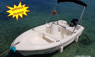 Rent this boat B410 'Tethys' without licencein Palma, Spain