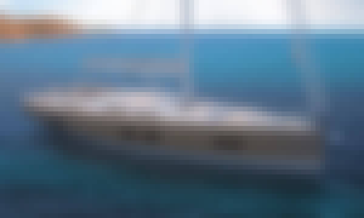 Hanse 548 Sailing Yacht Charter with AC & Generator in Lefkada, Greece