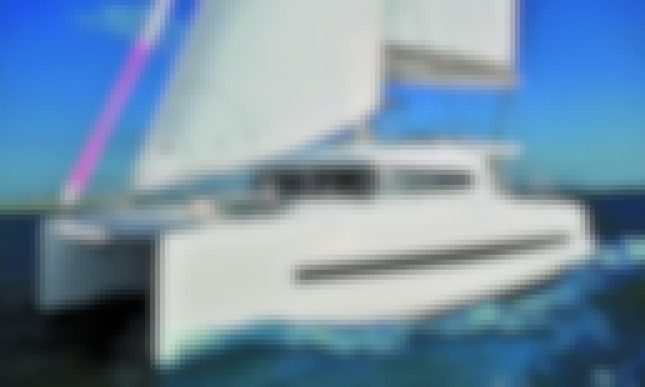 10-Person Bali 4.1 Cruising Catamaran Charter in Alimos, Greece