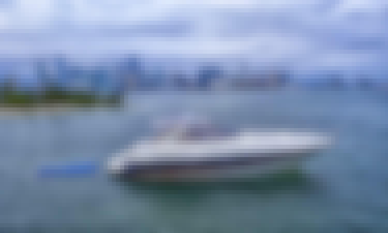 Miami Yacht Rental: sunseeker 45ft