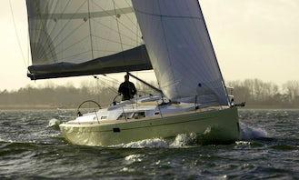 Explore Skiathos Islands with Hanse 430 Sailing Yacht