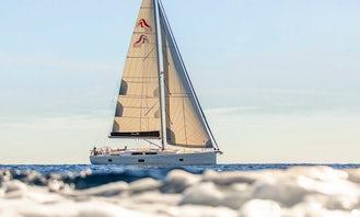 6-Cabin Hanse 508 Sailing Yacht in Rhodes, Greece