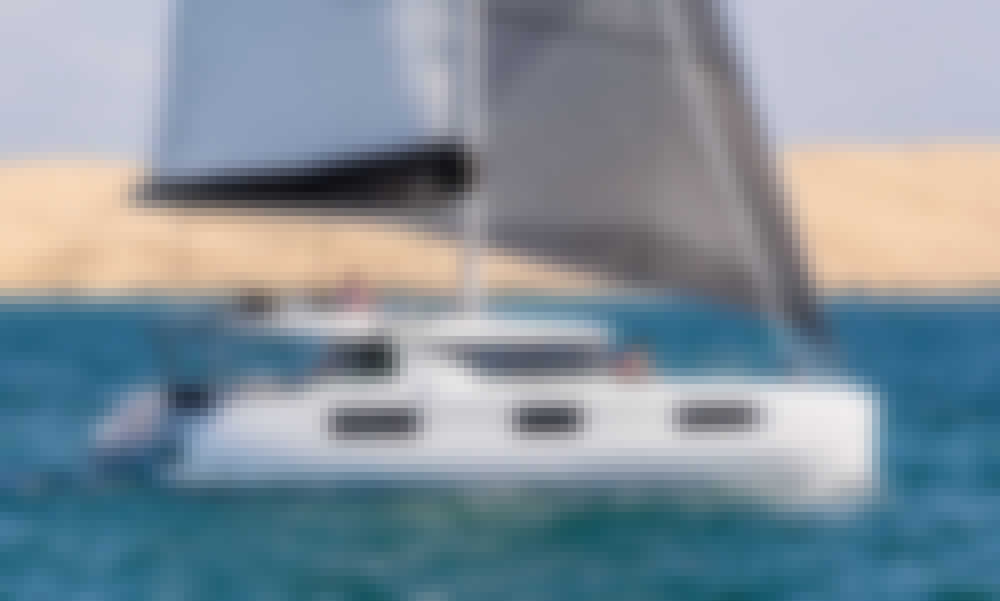 Lagoon 46 with A/C Cabins for Bareboat Charter in Lefkada, Greece