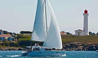 Lagoon 450 Fly Cruising Catamaran  Bareboat Charter for 12 People in Corfu, Greece