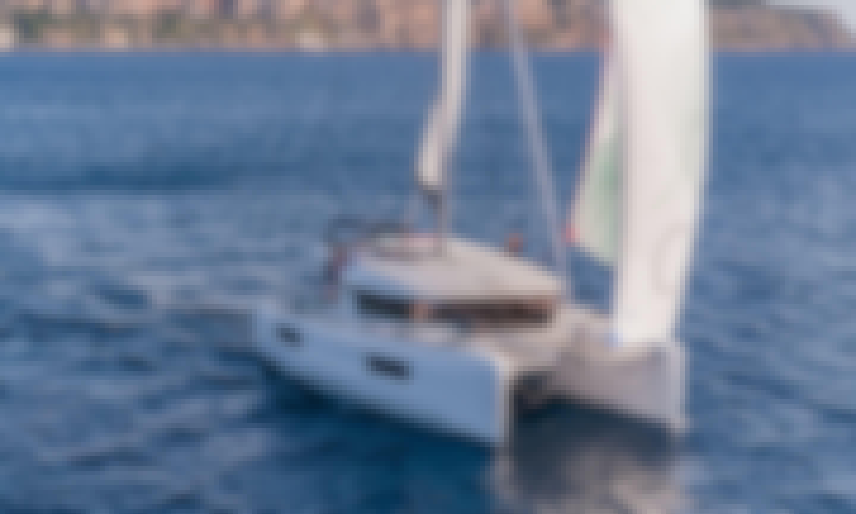 Charter this Amazing Lagoon for 10 People in Corfu, Greece