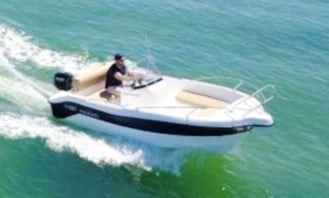 Rent the Menorcamar SIN I Mareti 450 Boat in Cap d'Artrutx, Illes Balears