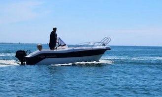 Menorcamar SIN III Mareti 450 Boat for Rent in Cap d'Artrutx, Illes Balears