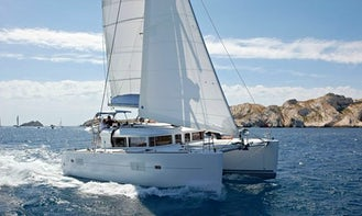 Explore the Sporades Islands Aboard the Comfort of Lagoon 400 Charter in Skiathos, Greece