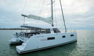 2020 Nautitech 40 Open Bareboat Charter for 10 People in Skiathos, Greece