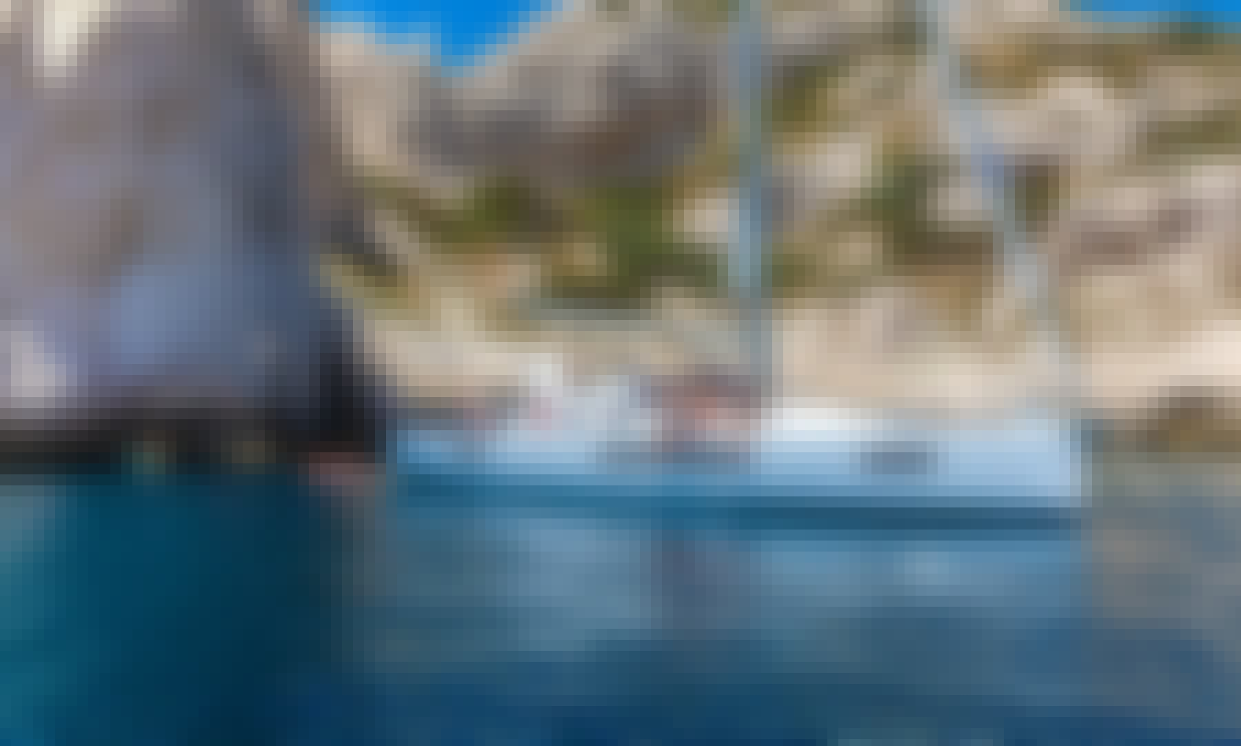 Start your Rhodes Island adventure with Sun Loft 47 Sailing Yacht