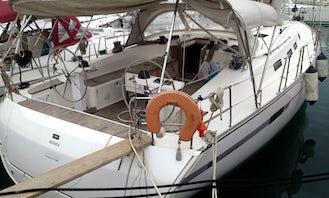Create Happy Times in Skiathos islands with Bavaria Cruiser 45 Sailboat