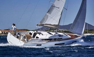 2021 Sun Odyssey 440 Sailing Yacht Charter in Skiathos, Greece