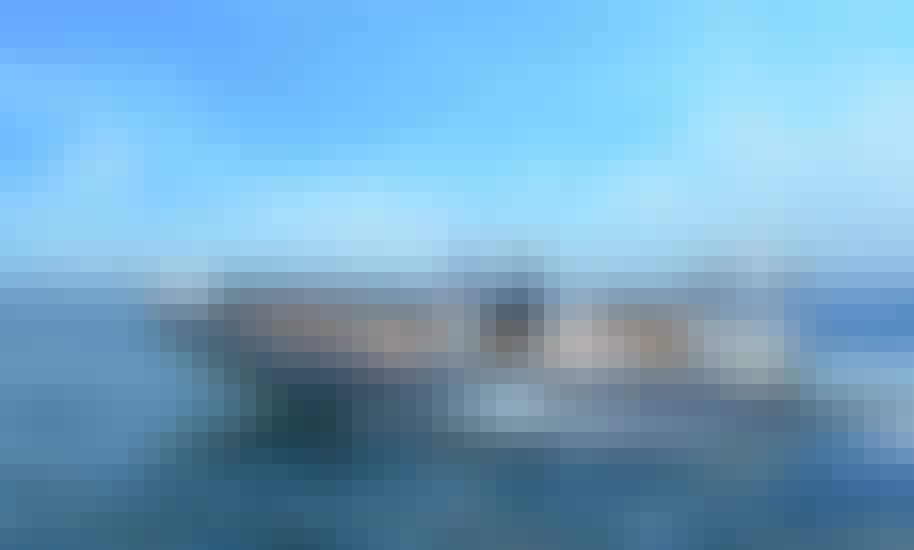 """Menorcamar IV"" BWA 28 Sport RIB Rental in Cap d'Artrutx, Illes Balears"