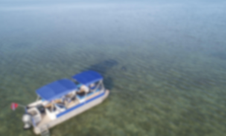 Amazing Fisher 24' Pontoon Boat in Lower Florida Keys