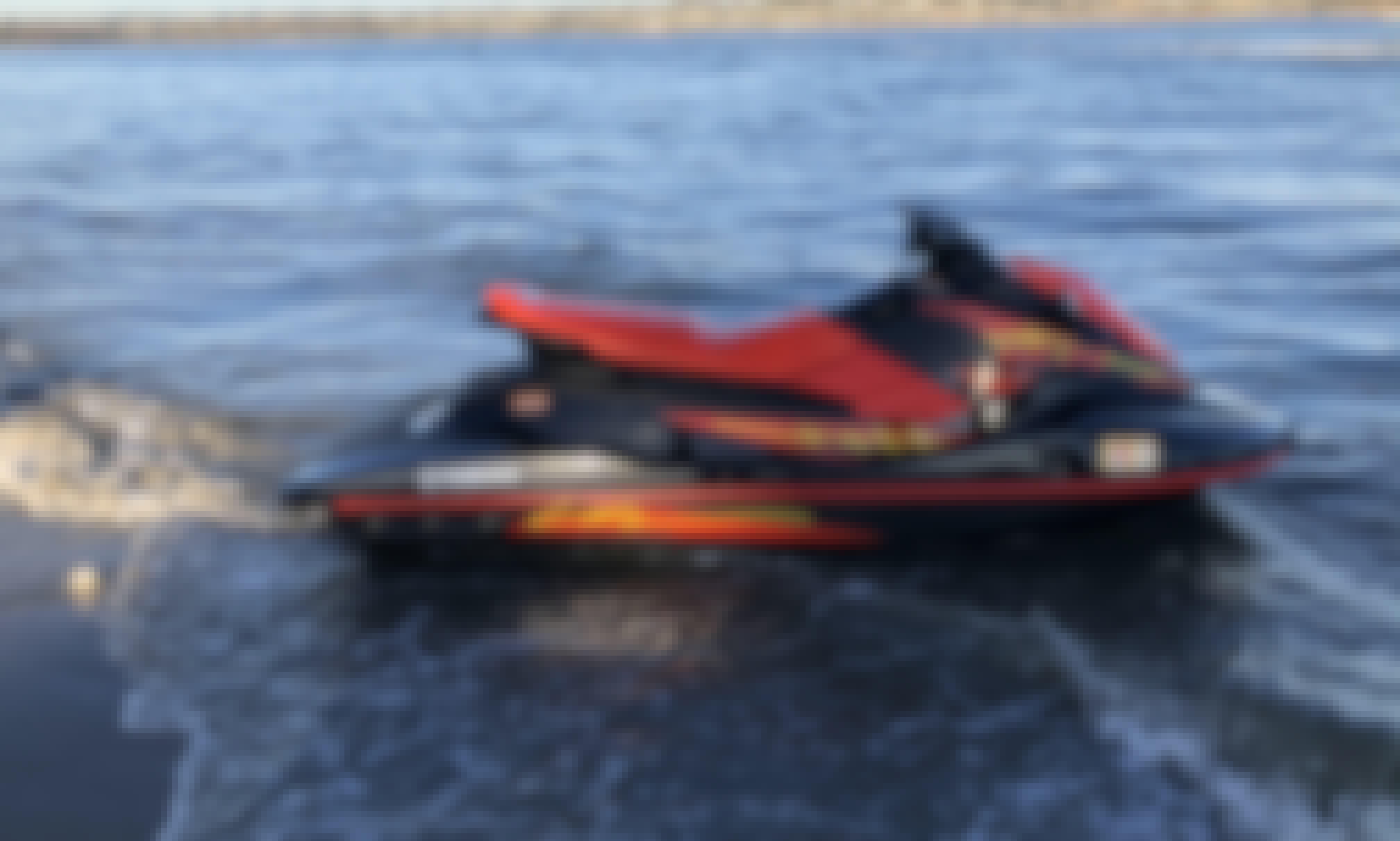 Fast and Fun Yamaha EX Sport Jetskis in San Diego