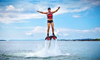 Amazing Flyboarding Lessons in Put-in-Bay, Ohio