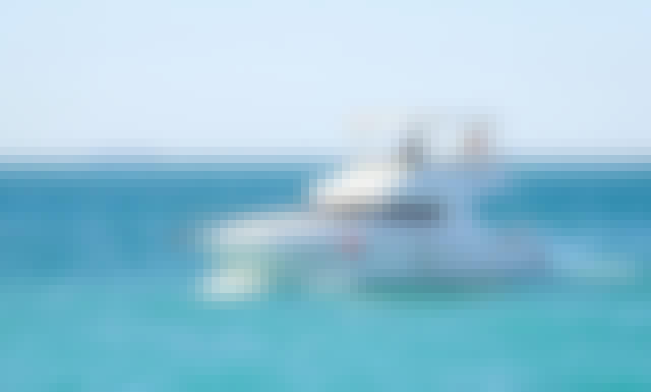 Book the 45' Mighty Motor Yacht in Dubai, United Arab Emirates