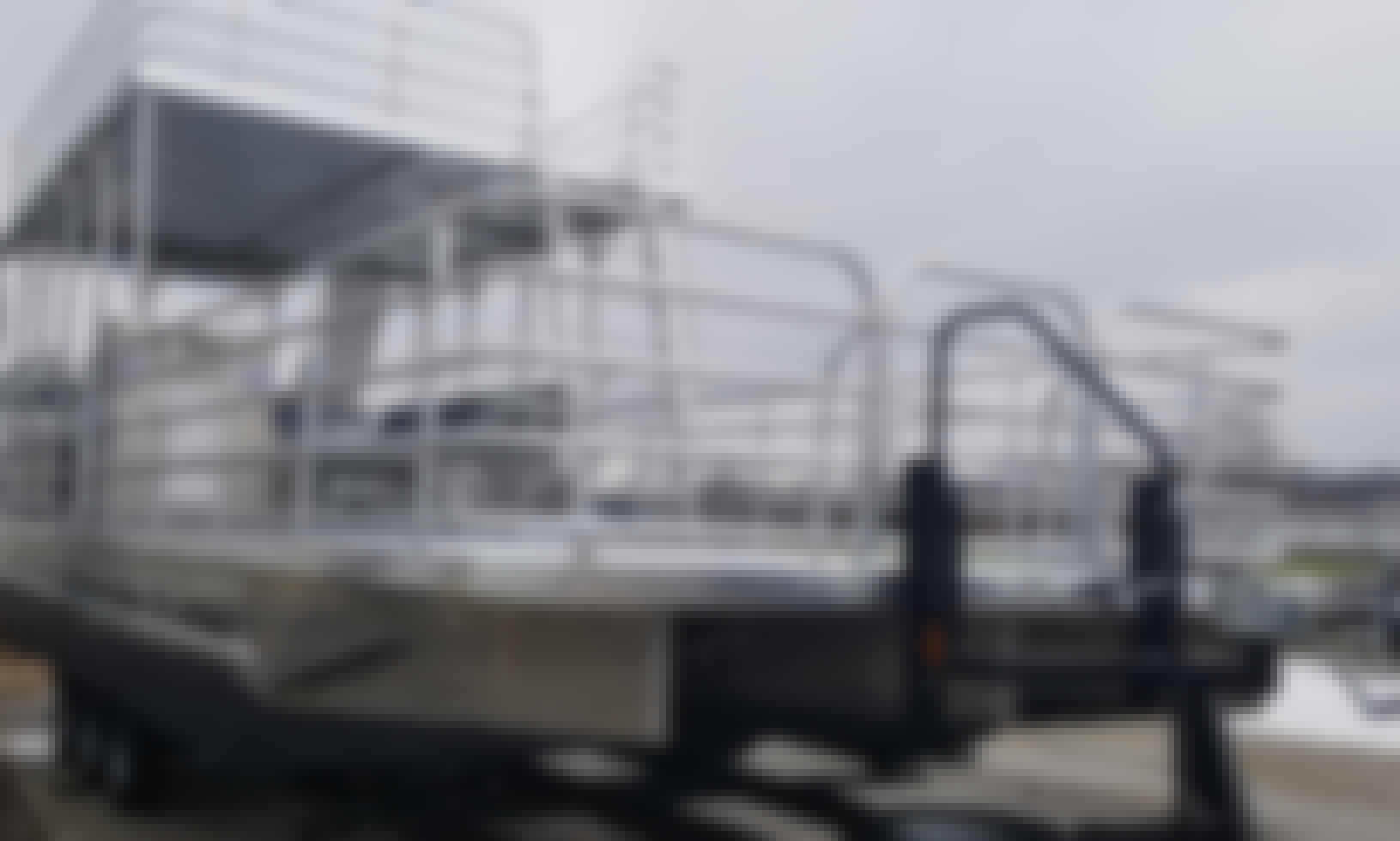 Solidcraft Double Deck 25' Pontoon Boat for Rent at Martinez Lake, AZ