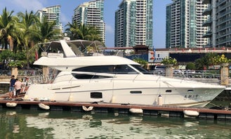 Jeanneau 60F Luxury Yacht Rental in Sanya